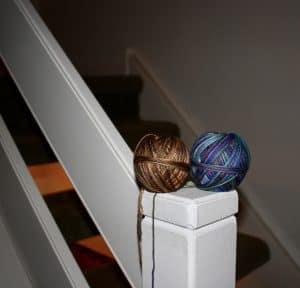 Koigu Cross Stitch Scarf Yarn