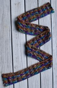 Koigu Cross Stitch Scarf