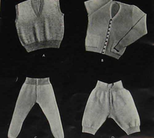 Men's Underpants Pattern