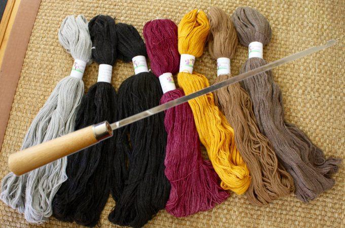 Beautiful Yarn and a Perfect Tool