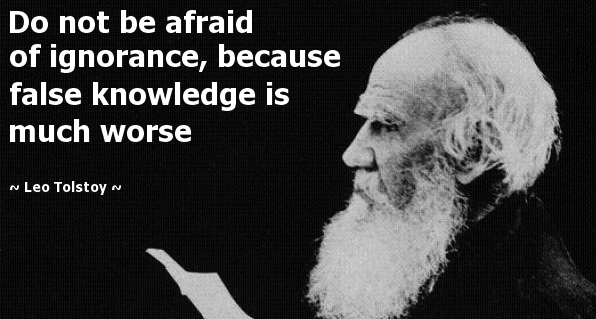 Afraid of Ignorance