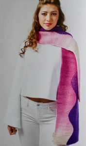 Gradient Style Shape Shifter Scarf