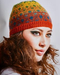 Gradient Style Spectrum Hat - Book Review