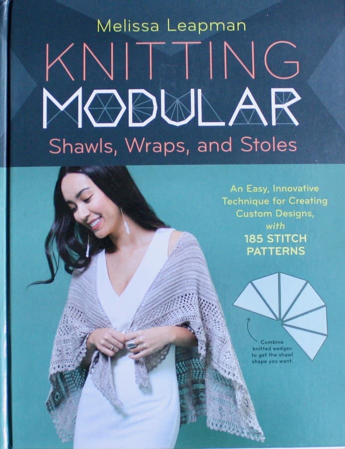 Leapman Knitting Modular Shawls Wraps and Stoles
