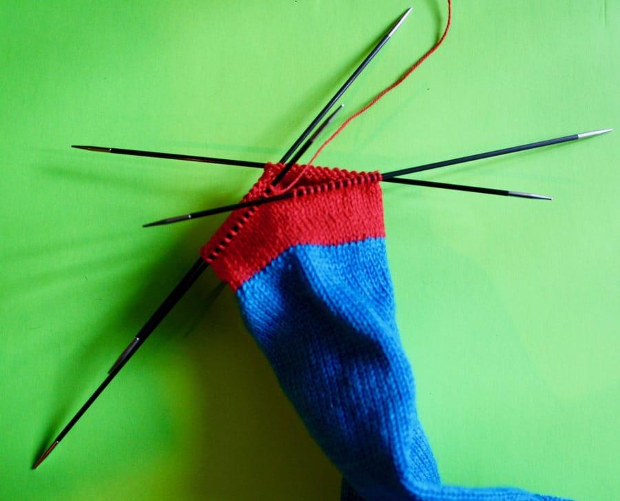 Left-Hand Sock 01