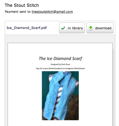Ice Diamond Scarf Download