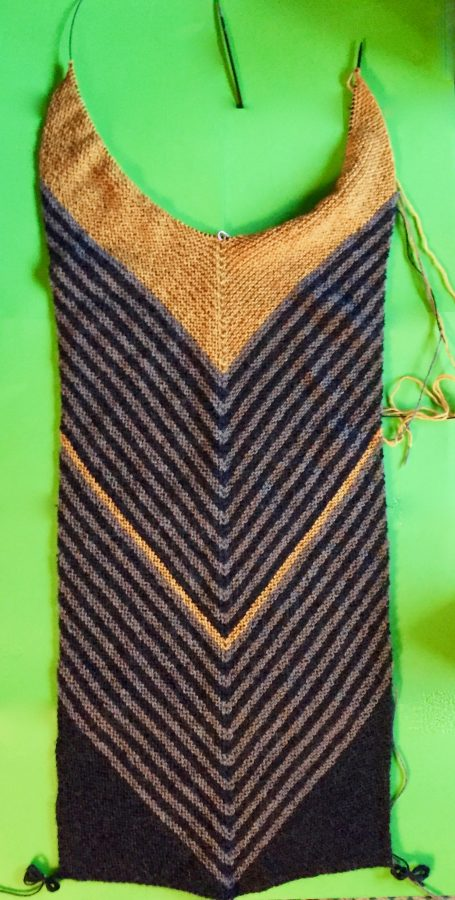 Biased Striped Stole 03-25-19 01