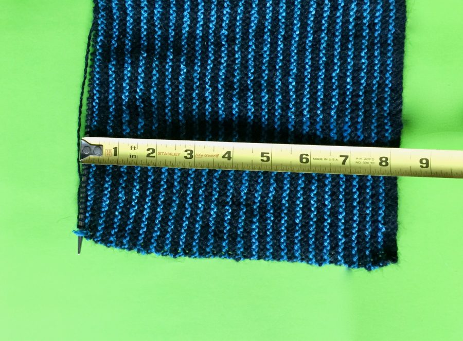 Black and Blue Stole 03-06-19 02