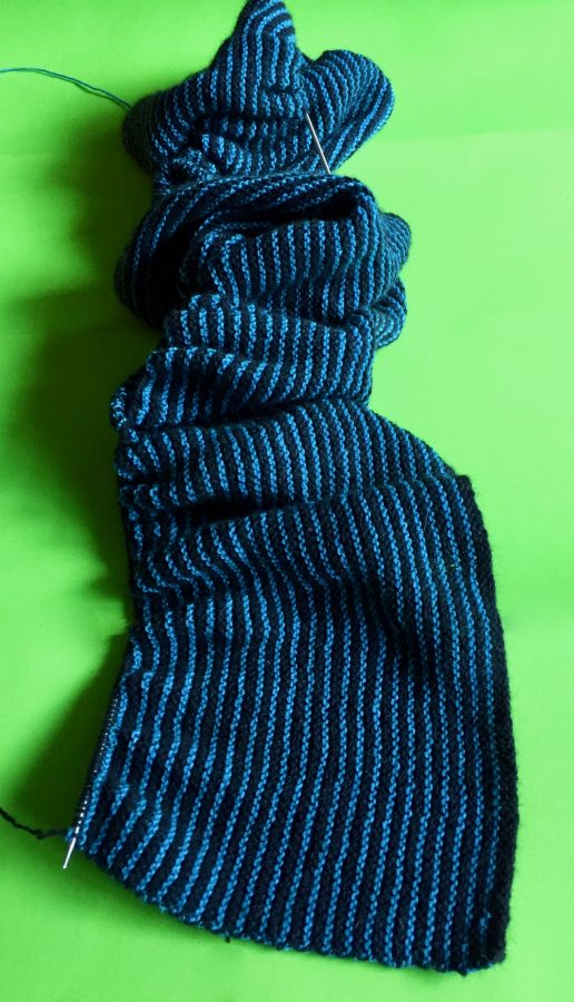 Black and Blue Stole 03-06-19