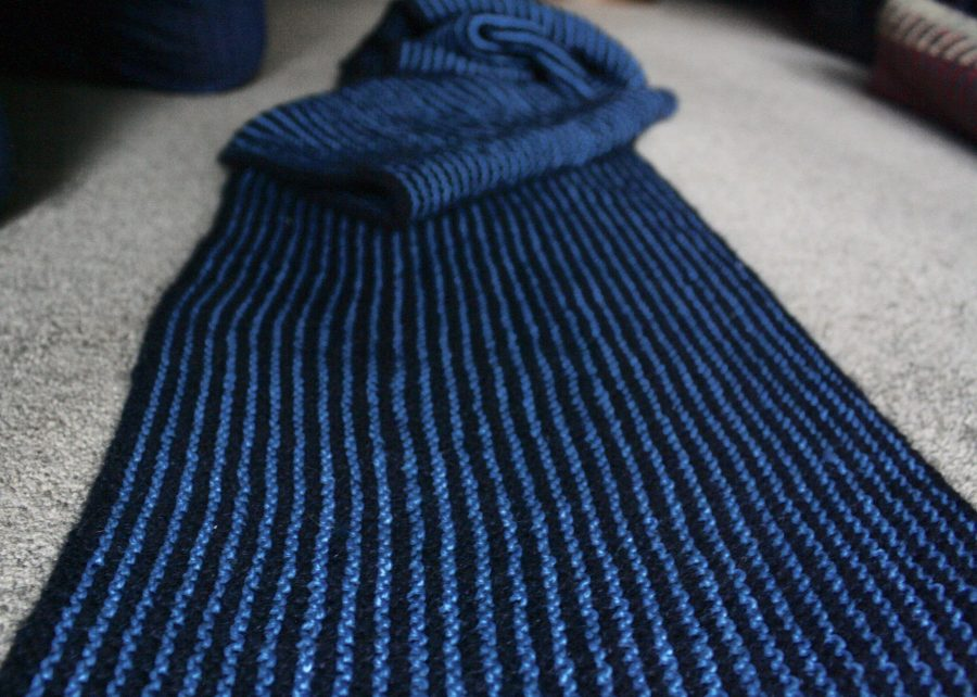 Black and Blue Stole 03-13-19-04