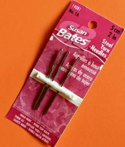 Susan Bates Blunt Needles