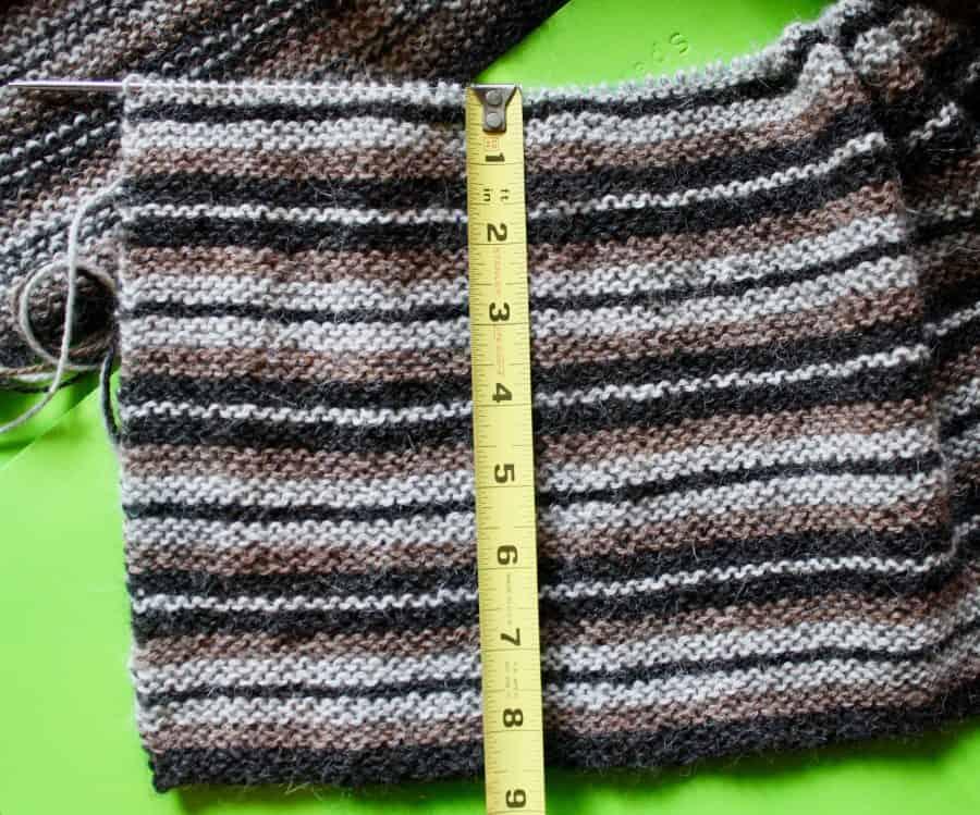 Horizontal Garter Stripes 04-15-19 02