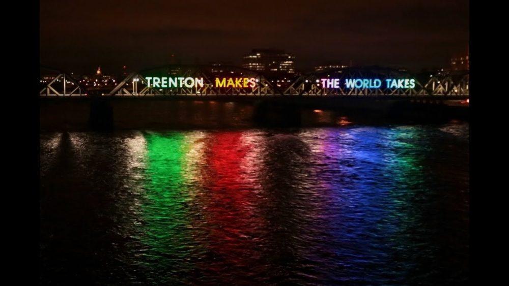 Colors Trenton Makes Rainbow Bridge