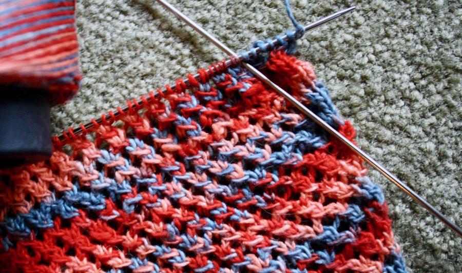 Knitting Mantra Cross Hatch Tiny 07-08-19 02