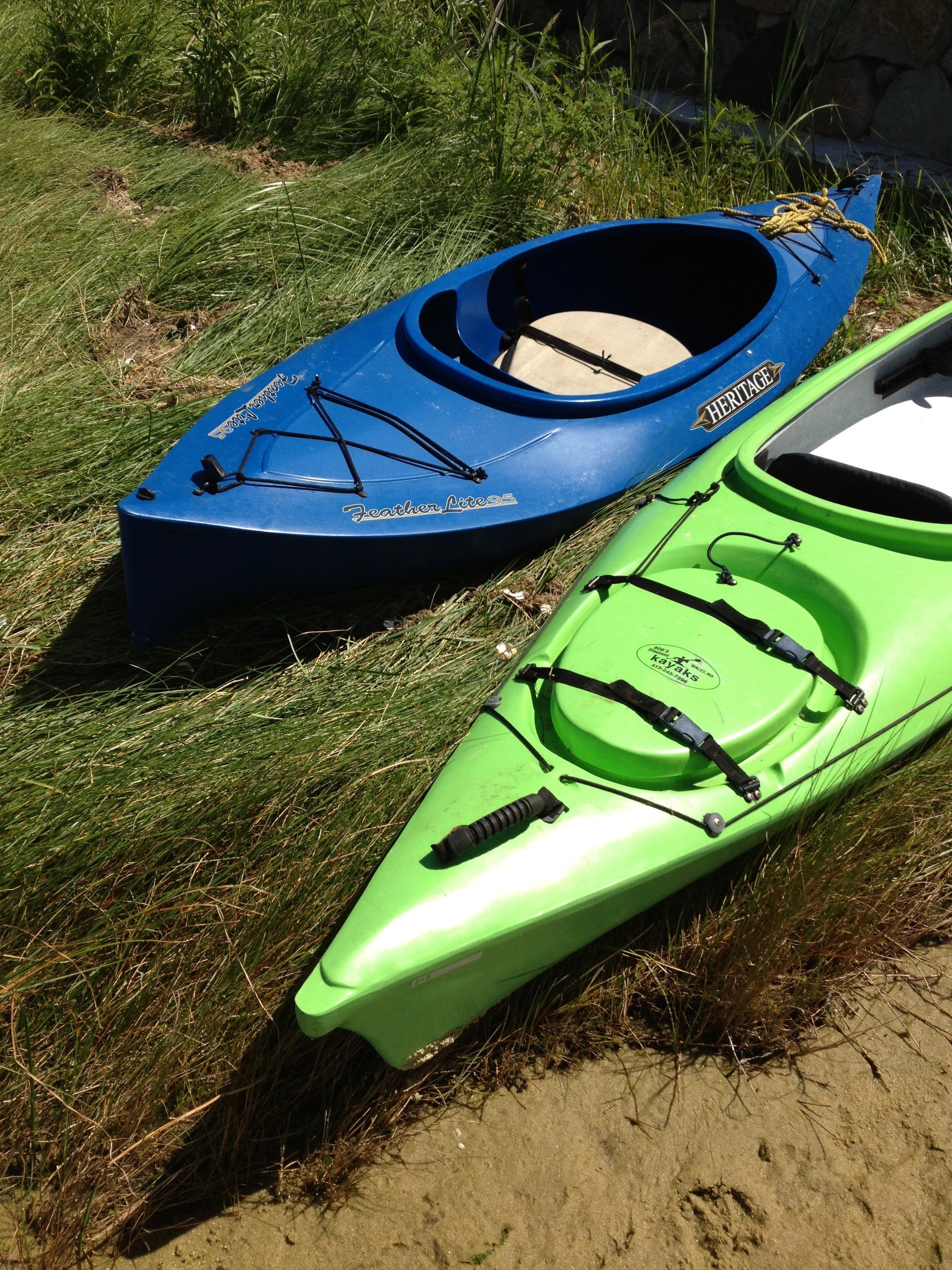 Vacation Kayaks at MV Marthas Vineyard