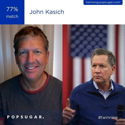 Celebrity Look-Alike John Kasich