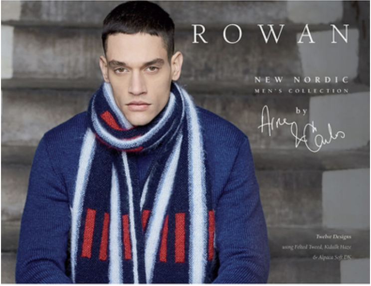 Rowan Nordic Collection Arne and Carlos Cover