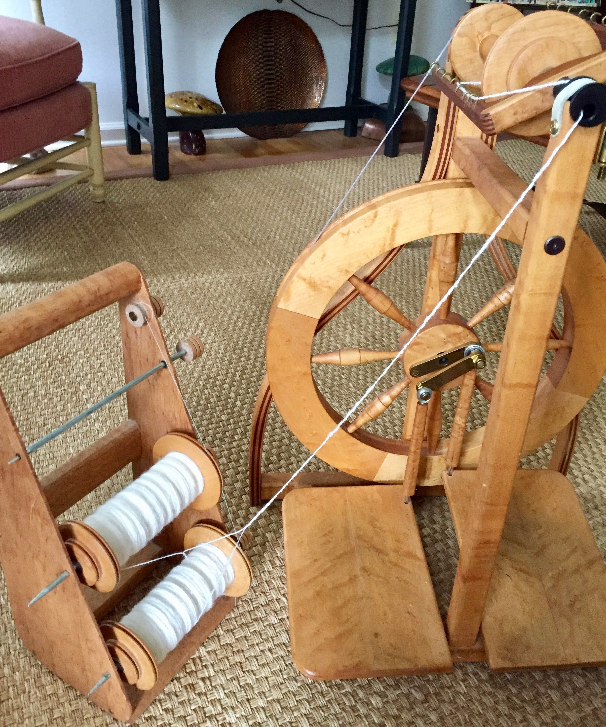 Plying Tommys Preferred Spinning 08-25-19