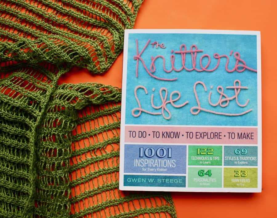 Bucket List Knitters Life List Book