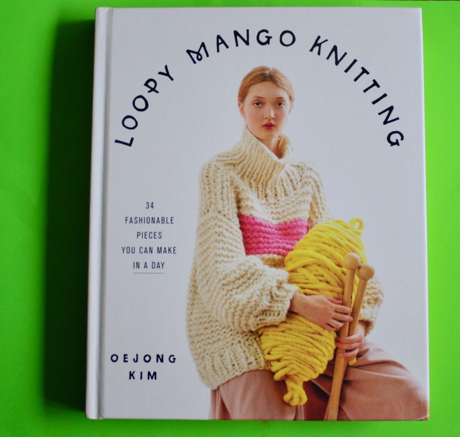 Loopy Mango Knitting Book Cover