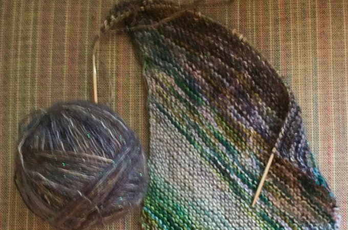 Can Men Wear Sparkly Yarn?