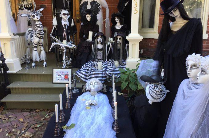 Halloween Locally – Lambertville New Jersey