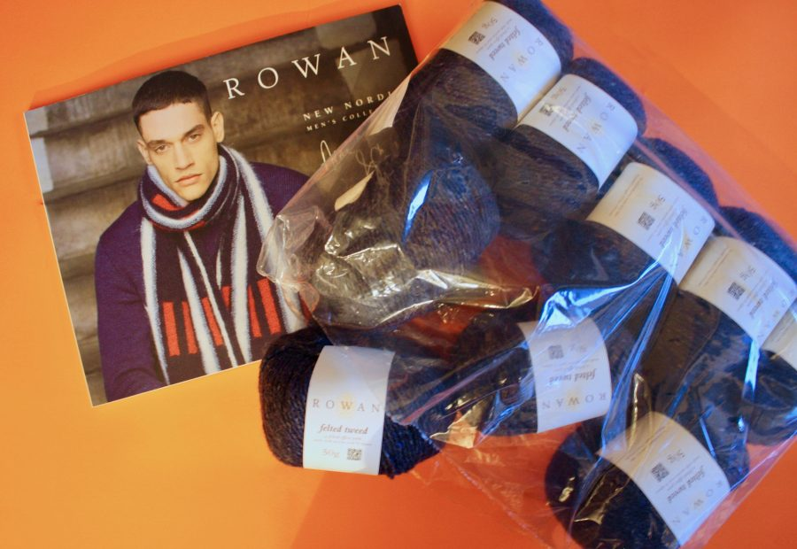 Rowan Nordic Men's Collection and Felted Tweed 10-02-19