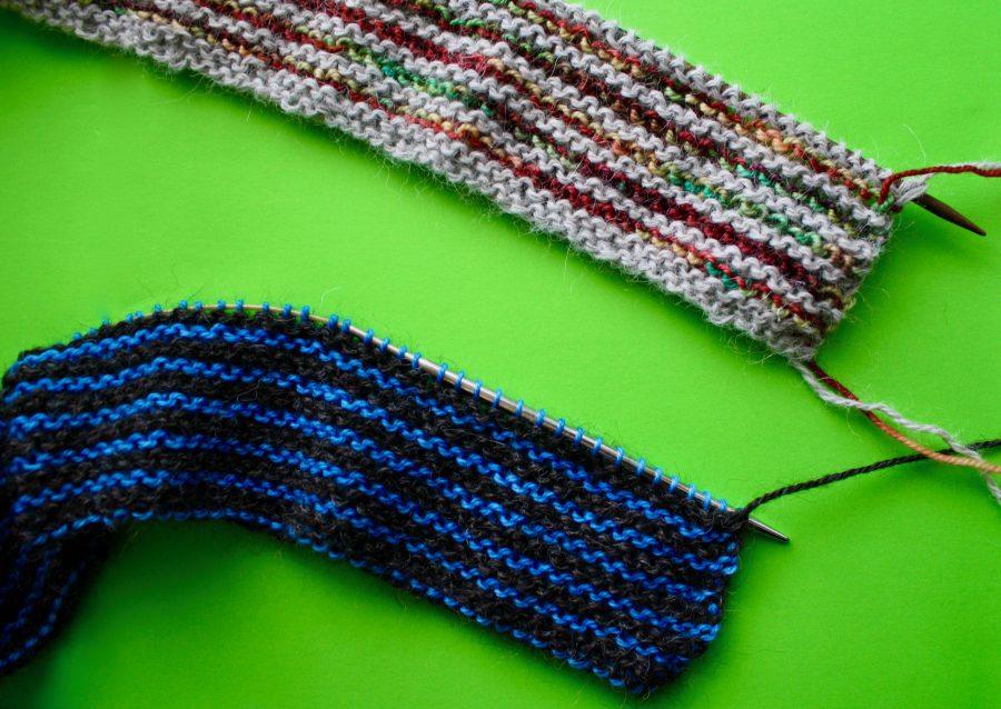 Garter Striped Scarves 11-02-19 02