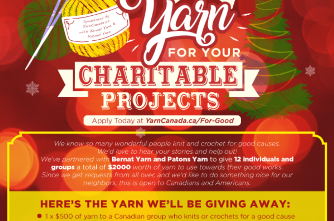 LOTS of Yarn to a Good Cause