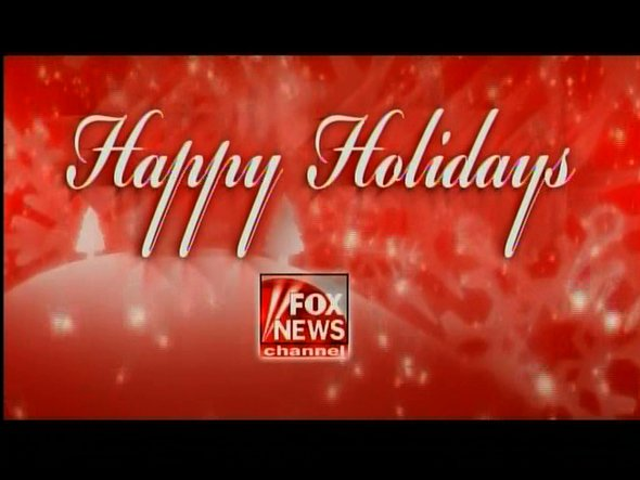 Happy Holidays Fox News