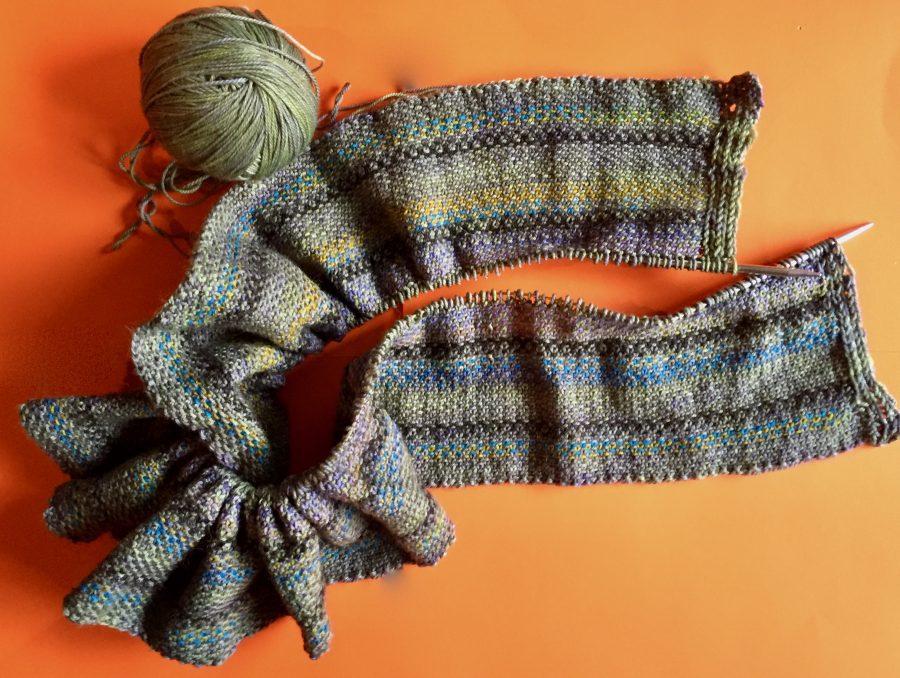 Linen Stitch Scarf 01-22-20 01