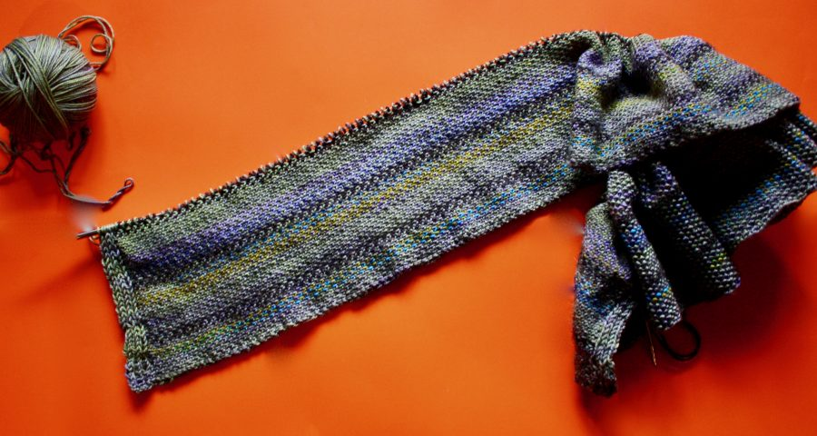 Linen Stitch Scarf 01-24-20 01