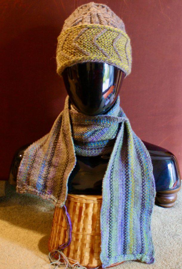Linen Stitch Scarf 01-27-20 00