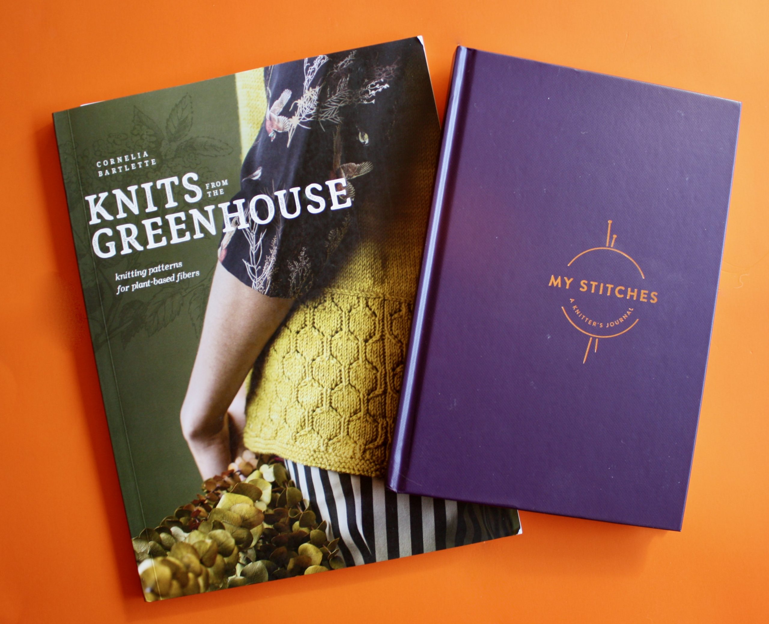 Third Book Review Knits From The Greenhouse and My Stitches