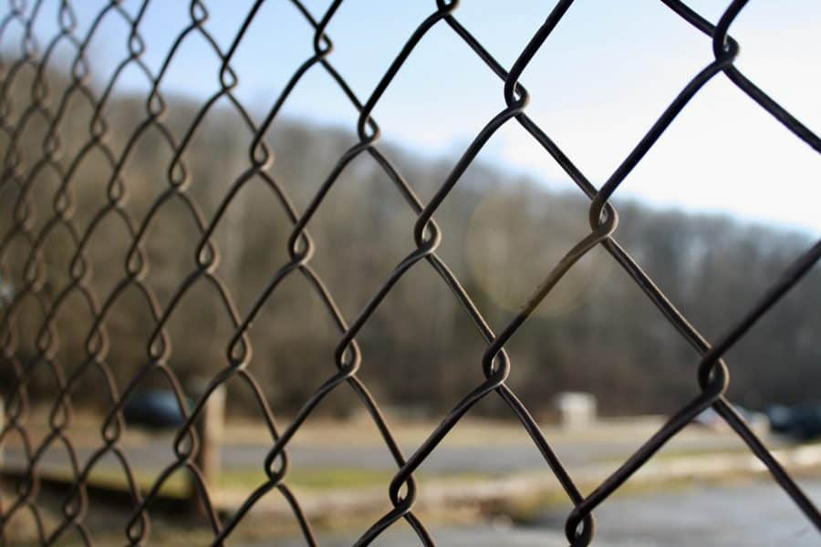 Foto February Day 15 - Chain Link Fence at Flea Market
