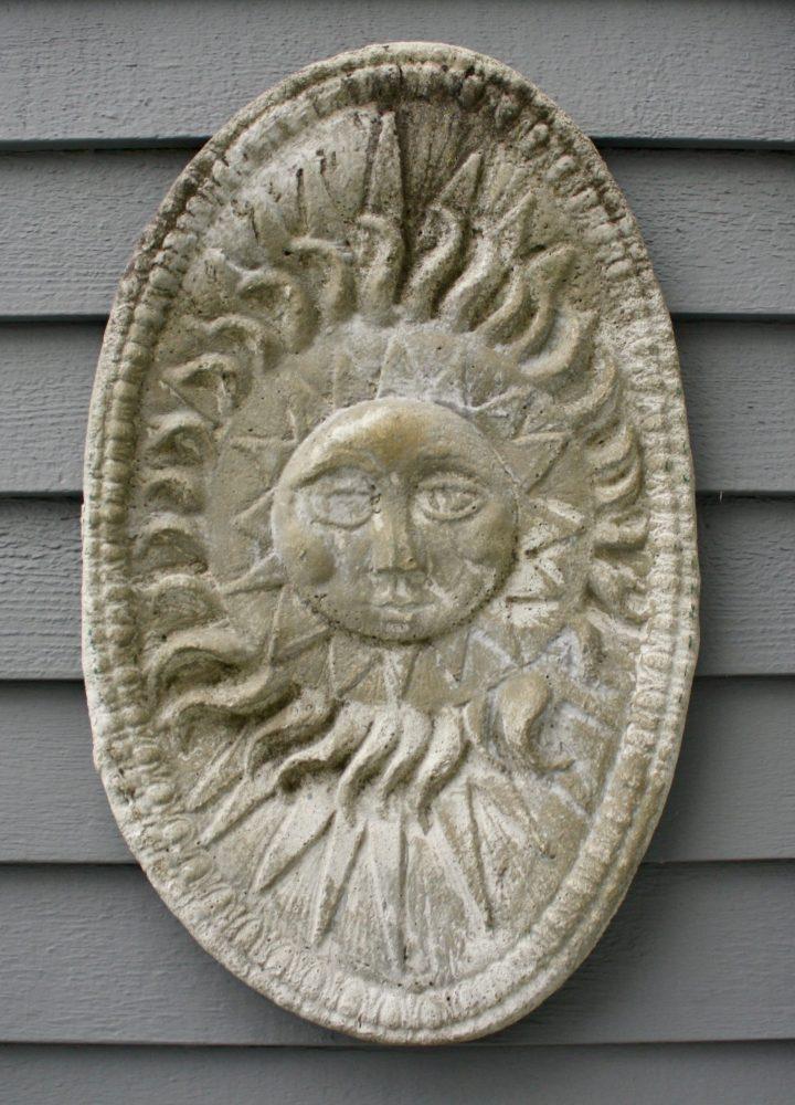 Foto February Day 9 Garden Sun Plaque