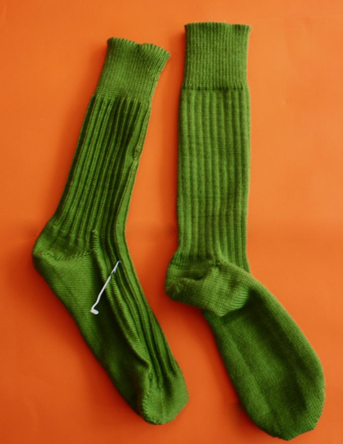 Green CSM Sock 03-09-20
