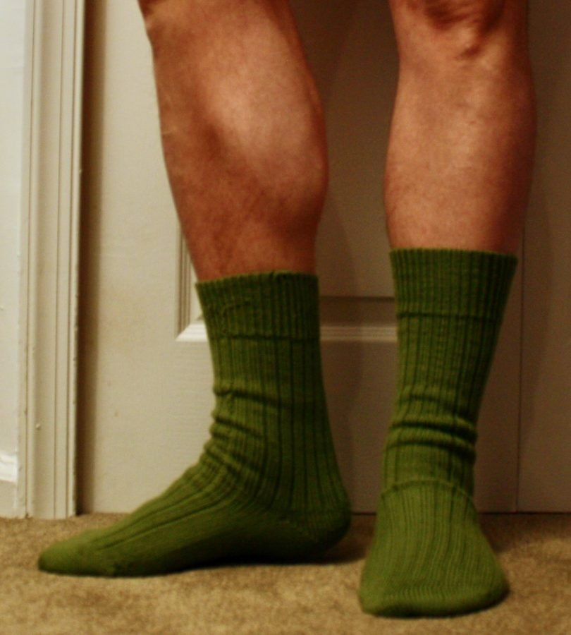 Green CSM Sock 03-09-20 on