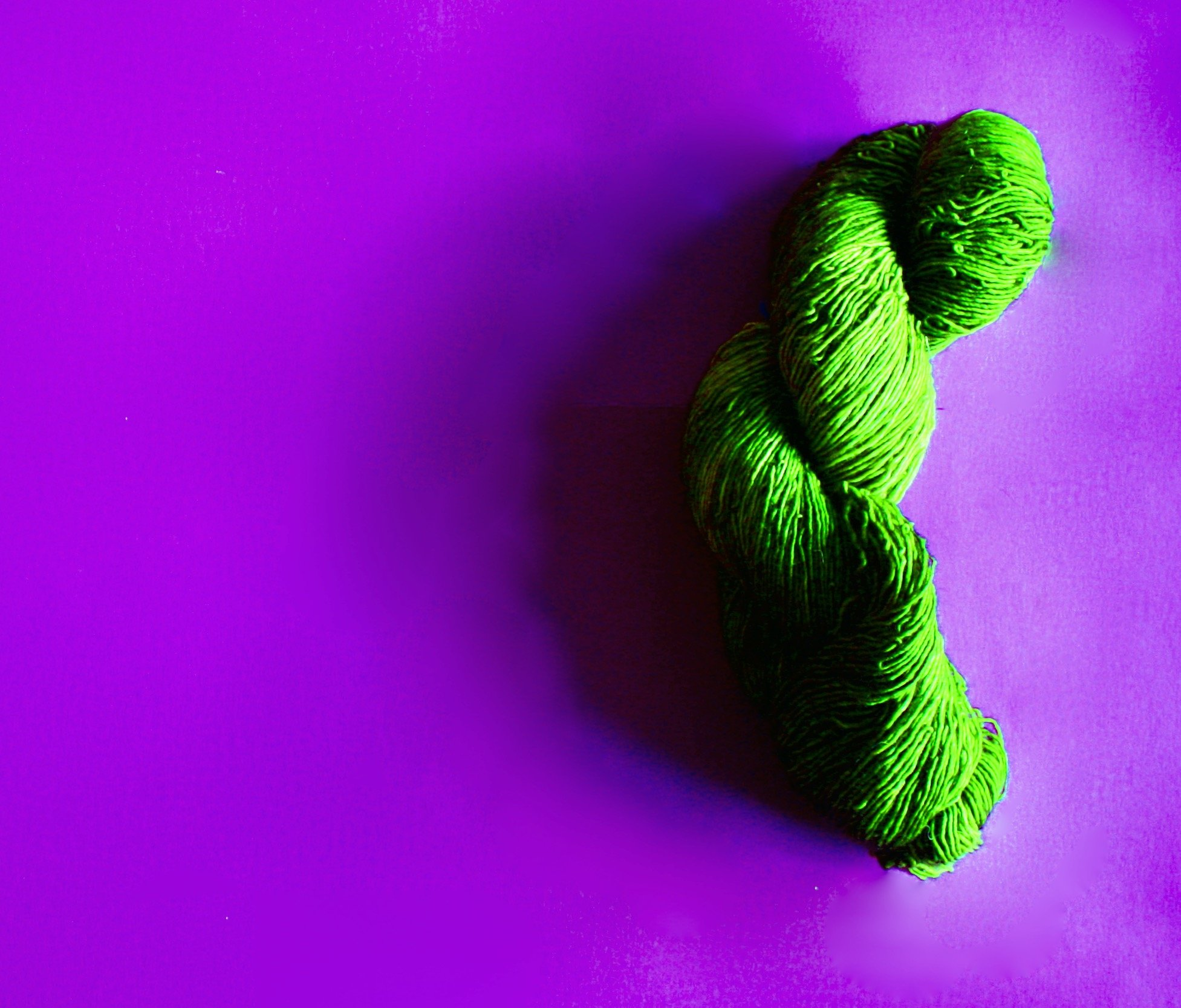 Unexpected Benefits of Retirement Green Yarn on Purple