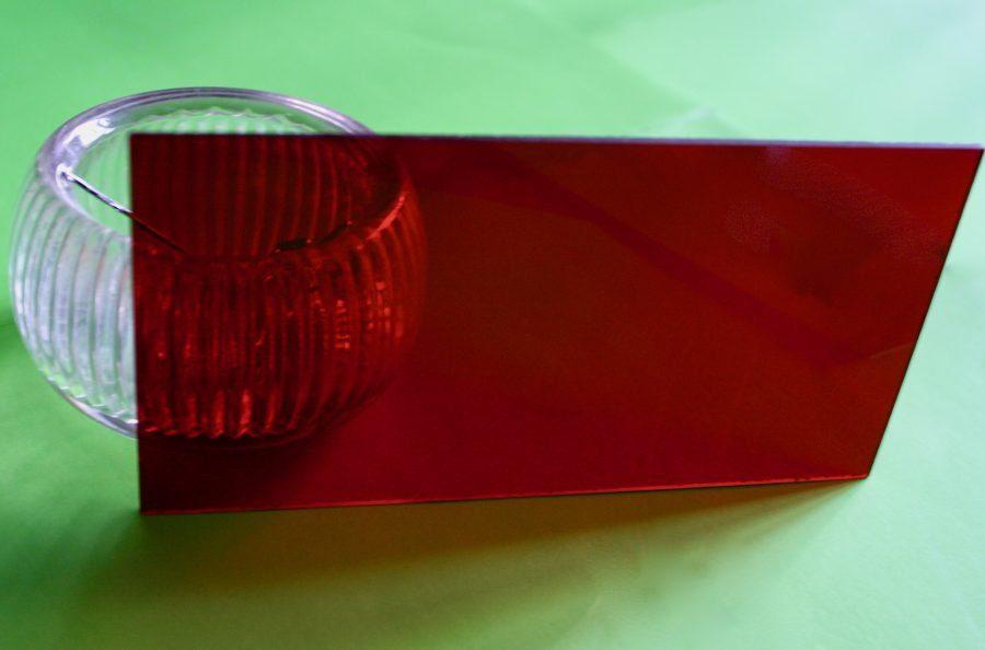 Red Plexiglass Filter