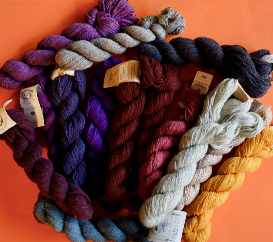 Shetland Yarn Various Colors Random