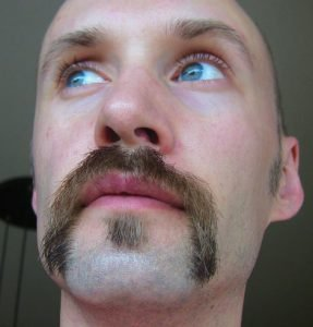 Biker Stache and Soul Patch