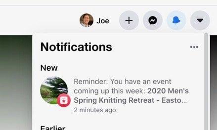 Facebook Notification Reminder MSKR 2020