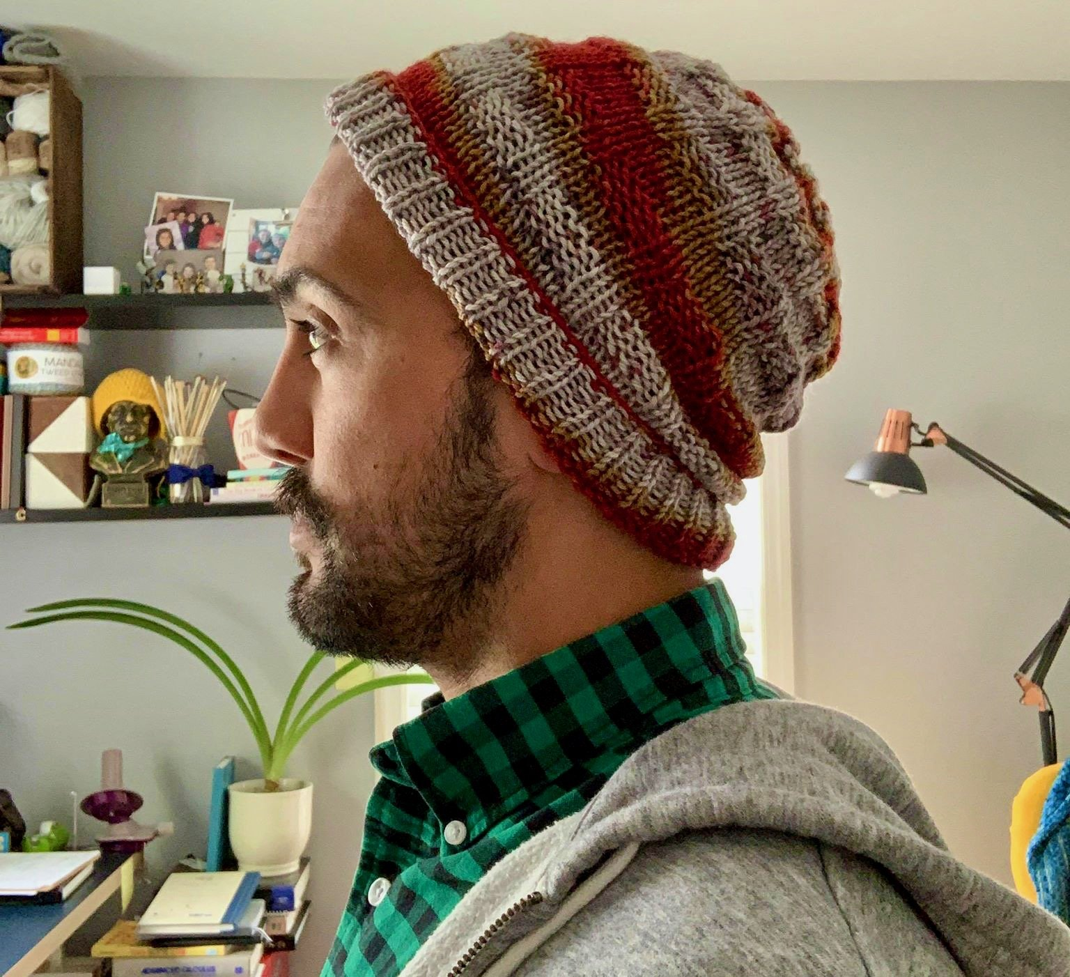 New Hat Pattern is Now Available - Gabe Gridditch Gryffindor