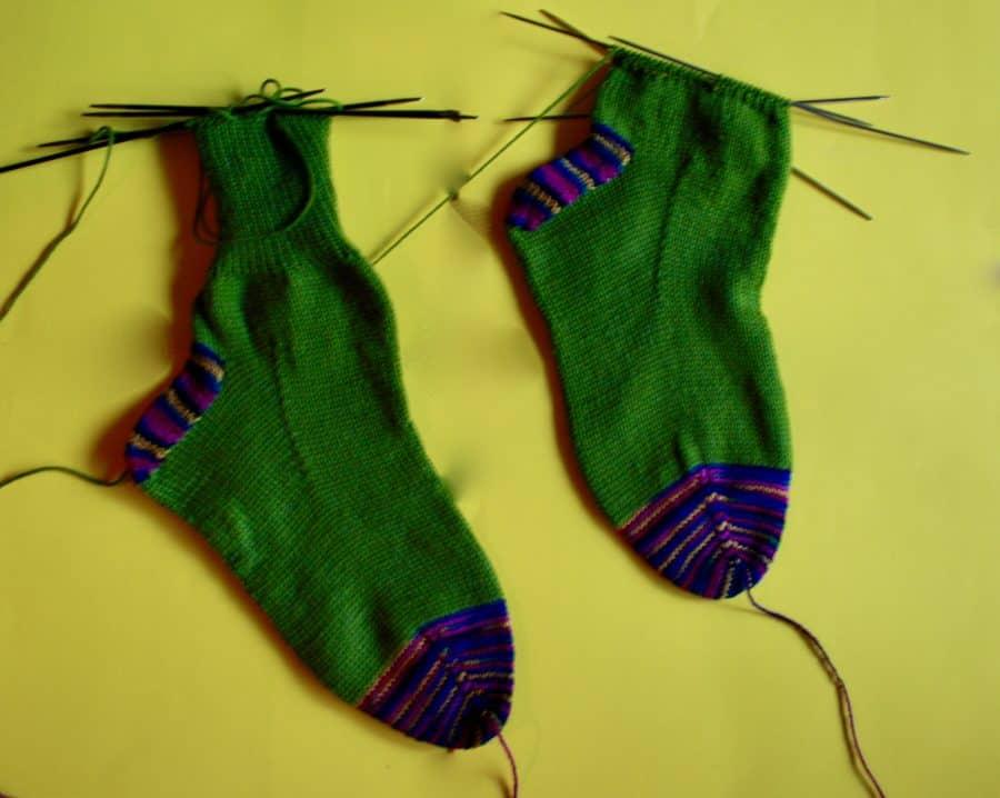 Toe-Up Sock 06-12-20 01