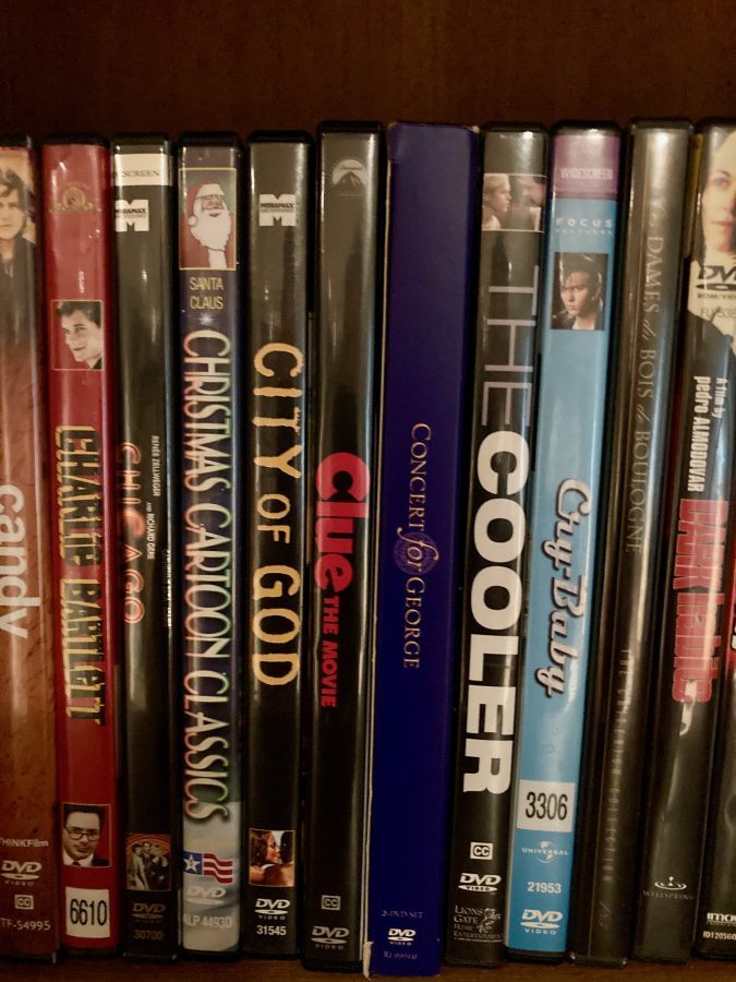 DVD Library Clue
