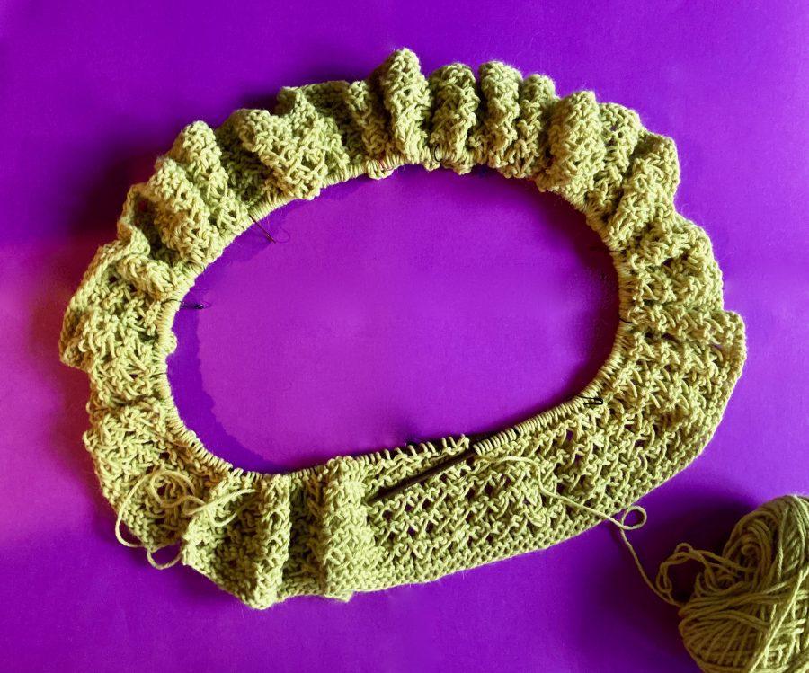 Interlocking Crochet Infinity Scarf 07-17-20 01