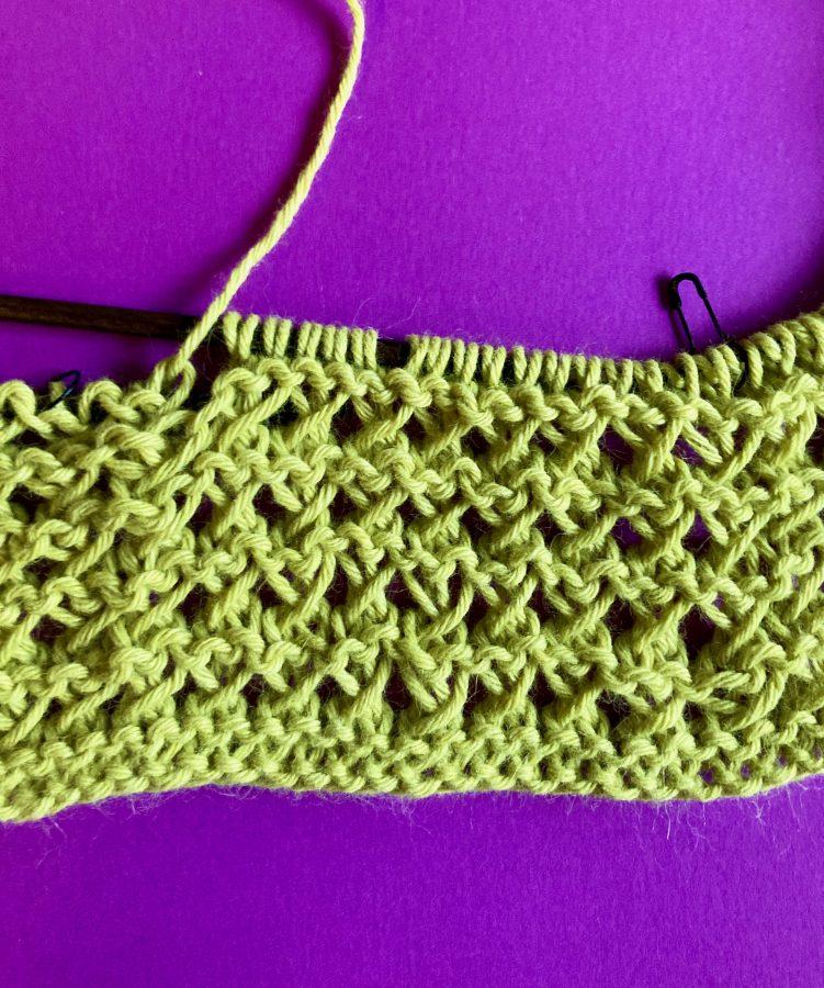 Interlocking Crochet Infinity Scarf 07-17-20 02
