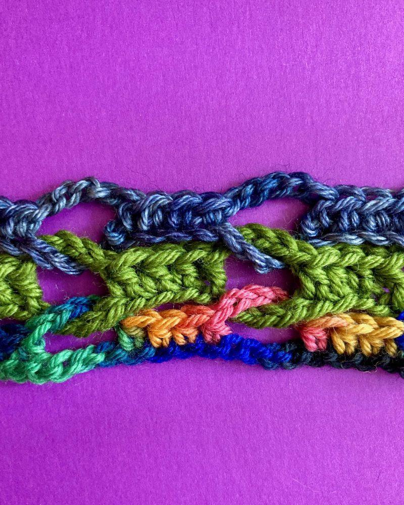 Crocheted Into A Corner Interlocking Crochet Infinity Scarf 07-20-20 02