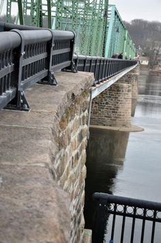 New Hope Free Bridge Railing